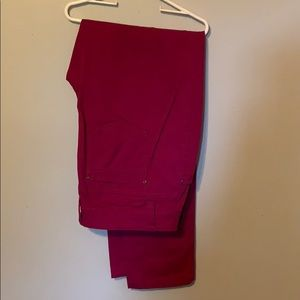 Stretchy Berry colored pants new